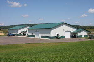 Kennel Facility Outside