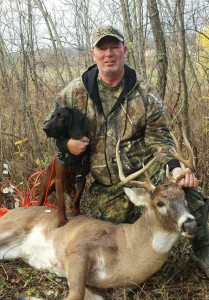 Steve Freeman with first buck ever